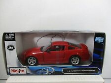 1/24 SCALE MAISTO RED 2006 FORD MUSTANG GT SPECIAL EDITION