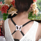 Lot 2PCS Sexy Women Butterfly Cleavage Control Clips Hide Bra Strap Buckle New