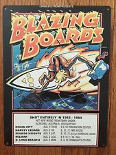Blazing Boards Rick Griffin Vintage Surfing Surf Surfboard Movie Poster Sign CA