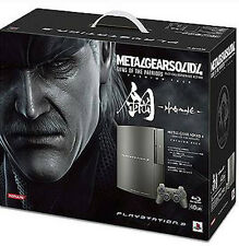 PlayStation 3 Console (NO GAME) Metal Gear Solid 4 Guns of the Patriots Edition