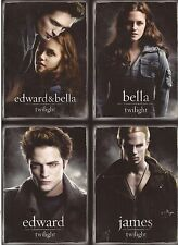 "Twilight - 2008 San Diego Comic Con RARE UNCUT 4 card promo sheet (5"" x 7"")"