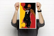 LeBron James NBA Player Prints Prints Bobblehead Art