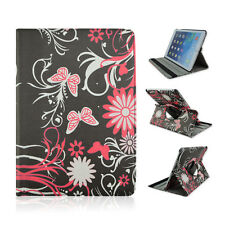 "FOR Asus - TF300T - 10.1"" inch Tablet Butterfly Flower Rotating Case Cover"