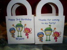 Team UmiZoomi Birthday Party pack 12 Favor Boxes Free Personalization