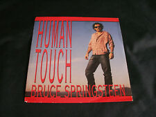 BRUCE SPRINGSTEEN 'Human Touch' bw 'Souls Of The Departed' 1992 45 in Pic Sleeve