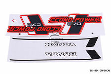 Fuel tank/side cover decal stickers for honda Cub C70 Econo-Power