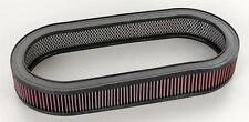 "4"" Tall Oval Air Cleaner K&N Filter Shelby Cobra AC GT350 500 KR Eleanor 427 428"