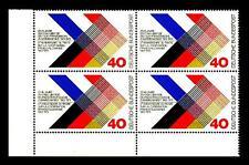 753 ** Eckrand-Vierer u.l. (deutsch-französischer Vertrag)