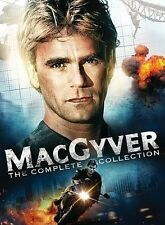 Macgyver:The Complete Series Collection 39-Dvd Set New Seasons 1-7+2 Movies