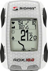 Sigma ROX 10.0 GPS Cycling Computer with ANT+ Speed Cadence and Heart Rate White