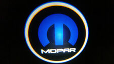 2PC MOPAR 5W LED EMBLEM DOOR PROJECTOR GHOST SHADOW PUDDLE LOGO LIGHT