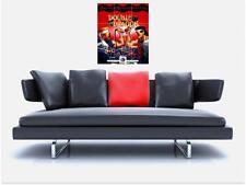 """Double dragon hommage carrelage mosaïque sans bordure mur Poster 35 """"x 25"""" Retro Gaming"""