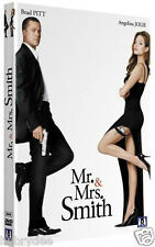 film action Dvd MR. AND MRS. SMITH Brad Pitt Angelina Jolie