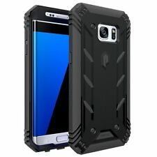 Poetic Revolution Shock Absorption Protect Case for Samsung Galaxy S7 Edge Black