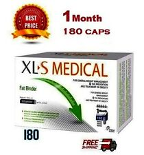 180 Caps XLS MEDICAL FAT BINDER - WEIGHT LOSS SLIMMING - BEST  FOR ONE MONTH