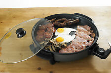 Quest Multi functional Electric Cooker 40 cm Large Nonstick Surface Easy Clean
