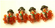 Handmade Lampwork Glass Thanksgiving Turkey Beads (10)