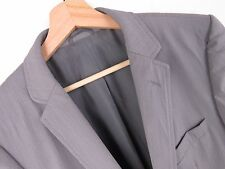 F645 HUGO BOSS JACKET BLAZER ORIGINAL WOOL STRETCHED VINTAGE GREY size 48
