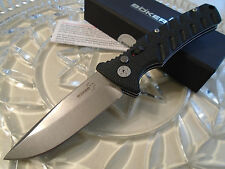 Boker Plus Strike Drop Point Button Lock Tactical Pocket Knife Aus-8 01BO400N