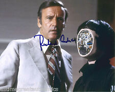 ACTOR RICHARD ANDERSON SIGNED THE BIONIC WOMAN 8X10 PHOTO COA SIX MILLION MAN