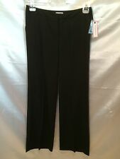 BISOU BISOU BLACK DRESS CAREER STRETCH PANTS BOOT CUT SIZE 6 NWT $50