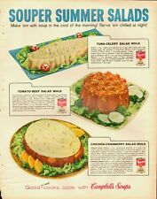 1959 Vintage ad for Campbell's Soup/Souper Summer Salads/Tuna Mold (061013)