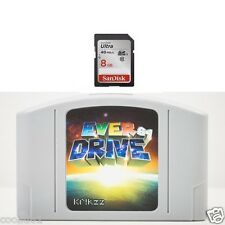 New EVERDRIVE 64 FLASHCART V2.5 8GB, NTSC NINTENDO 64