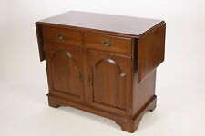 Ethan Allen Server Solid Cherry Sheffield Fold Down Leaves Bar Buffet Sideboard