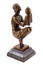 Oblivion (ca. 1920) - Georges Duvernet - Art Déco Bronzefigur