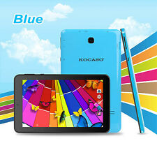 "KOCASO 7"" inch Android 4.4 Tablet PC Quad Core MID 8GB 1.3GHz Dual Camera - Blue"