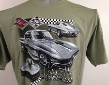NWT Corvette Sting Ray Original Brand Out Of Bounds M 100% Cotton T-shirt Cars