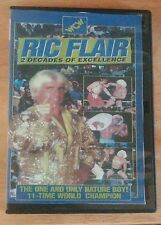 Ric Flair 2 Decades Of Excellence WCW VHS-DVD