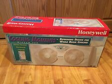 2-WAY HONEYWELL HW-300 Twin Window Fan Exhaust  MANUAL, HARDWARE NIB