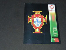 N°103 BADGE ECUSSON WAPPEN PORTUGAL PANINI FOOTBALL UEFA EURO 2008