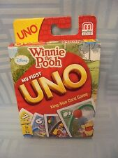 My First Uno King-size Card Game with Winnie the Pooh HH3