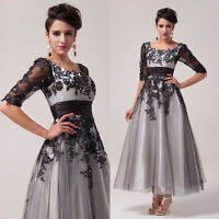 PLUS SIZE 20 22 24 26 Mother Of The Bride Formal Evening WEDDING Gown Prom Dress