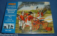 IMEX 555. AMERICAN REVOLUTIONARY WAR BRITISH ARTILLERY. 1/72 Scale. INDEPENDENCE