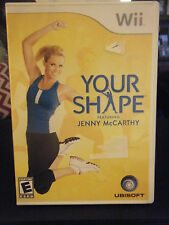 Your Shape: Featuring Jenny McCarthy (Nintendo Wii, 2009) - No Camera Included!!