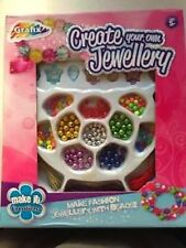 Grafix - Create Your Own Jewellery - Children's Girls Bracelet Craft - Ages 5+