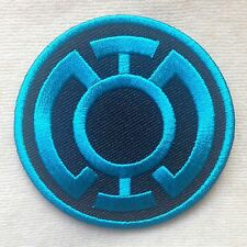 SUPERHERO SUPER HERO BLUE LANTERN DC COMICS EMBROIDERY IRON ON PATCH BADGE