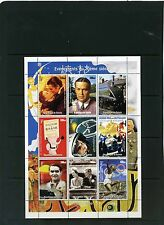 GUINEA 1998 MILLENNIUM/MOVIES/SPACE/SPORTS SHEET OF 9 STAMPS MNH