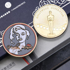 1pc Hollywood Marilyn Monroe commemorative coins art gift