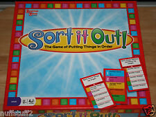 Sort It Out Board Game - The Game of Putting Things In Order!
