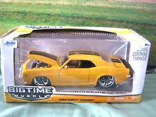 1969 Chevy Camaro Z28 Yellow Bigtime Muscle by Jada  Die-Cast Metal 1/24 Scale