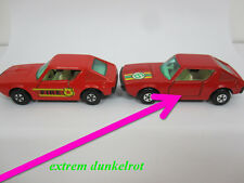 Matchbox 1-75 Superfast  England, MB62 Renault 17TL, SEHR DUNKELROT, No6 Label
