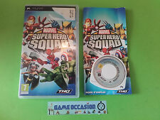 MARVEL SUPER HERO SQUAD SONY PLAYSTATION PSP PAL COMPLET