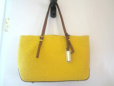 Michael Kors Gia EW Tote Handbag with in Sun Yellow *NWT*