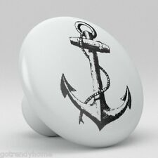 Ocean Anchor Sailing Ceramic Knobs Pulls Drawer Cabinet Vanity Closet 919 Pantry