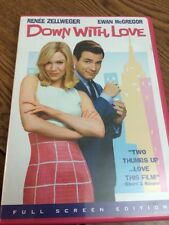 Down With Love (DVD, 2003, Full Frame)