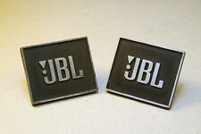 Vtg Vintage JBL OEM Logo Emblem Badge L19 L26 L36 L100 L200 L300~1-1/4'' or 30mm